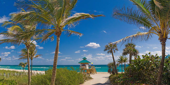 Sunny Isles Beach In Florida